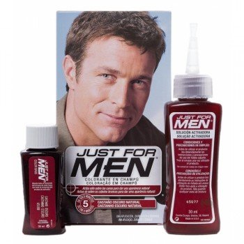 JUST FOR MEN CASTA?O OSCURO