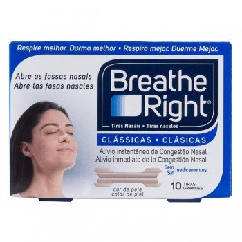 TIRAS NASALES BREATHE RIGHT...