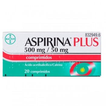 ASPIRINA PLUS 500/50 MG 20...