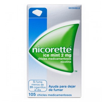 NICORETTE ICE MINT 2 MG 105...