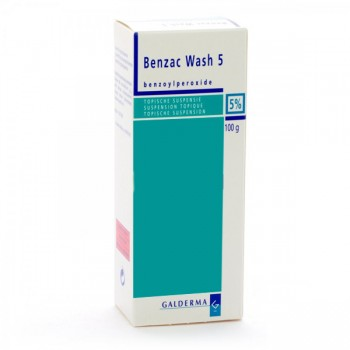 BENZAC WASH 50 MG/G GEL...