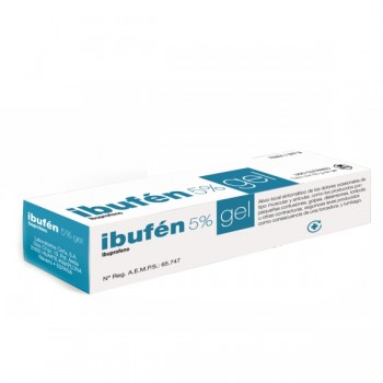 IBUFEN 50 MG/G GEL TOPICO 50 G