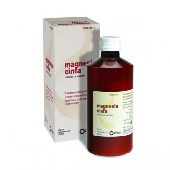 MAGNESIA CINFA 200 MG/ML...