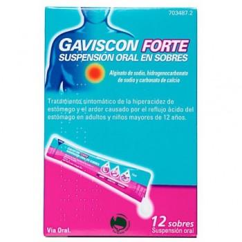 GAVISCON FORTE 12 SOBRES...