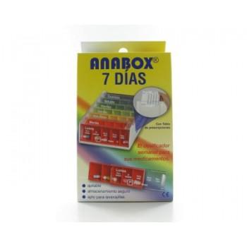 PASTILLERO SEMANAL ANABOX 7...
