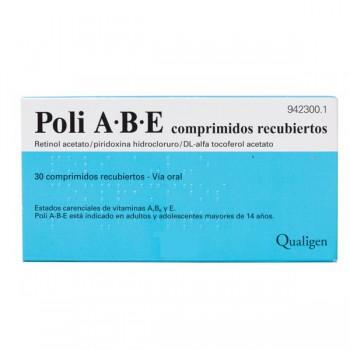 POLI A·B·E 30 COMPRIMIDOS...