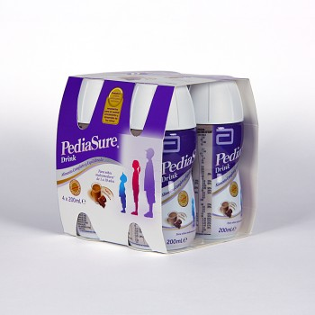 PEDIASURE DRINK CHOCO 4X200 ML