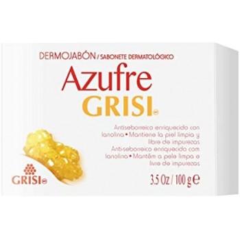 JABON GRISI AZUFRE  100 G