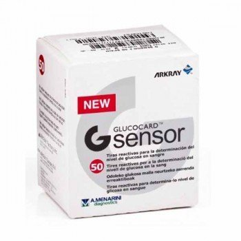 GLUCOCARD G SENSOR F 1X50