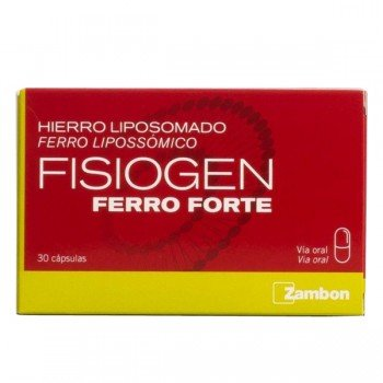 FISIOGEN FERRO FORTE CAPS...