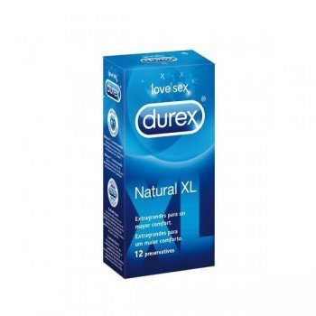 DUREX NATURAL XL...